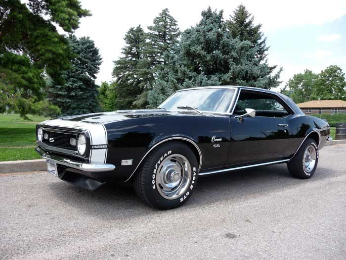 '68 Camaro SS 396 - Sexiest Car Ever. Yes, cars can be sexy.... <3. Also.... best year ever.