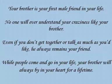 Brother Sadness Pain Memories Pinterest Brother Quotes