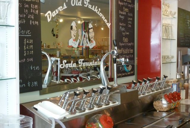 Daves' Old Fashioned Soda Fountain and Chocolate Drop Candy Shop , Belfast, Maine