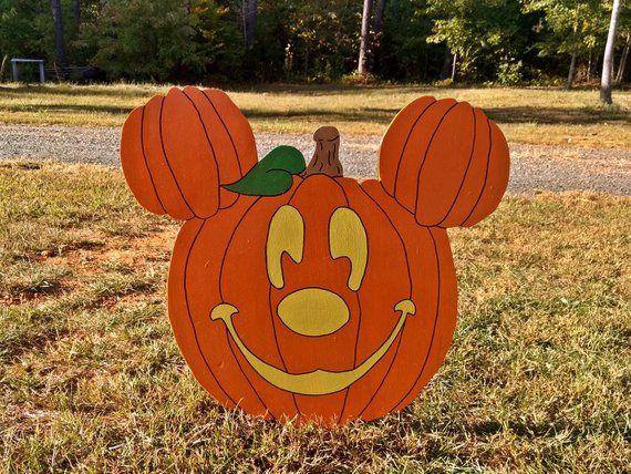 Halloween Mickey Yard Sign
