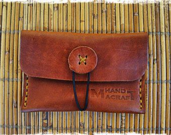 Gorgeous Handmade Leather coin purse gift for your by HandMacraft