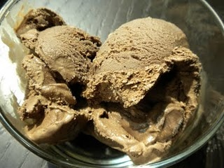 """Aztec """"Hot"""" Chocolate Ice Cream -- cinnamon and chocolate, what could be better?"""