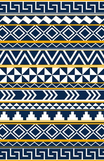 Tribal Pattern 2 Art Print