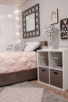 Inspiration déco chambre d'ado http://www.m-habitat.fr/par-pieces/chambre/amenager-une-chambre-pour-adolescent-2626_A #chambre #déco