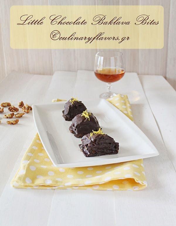 Little Chocolate Baklava Bites