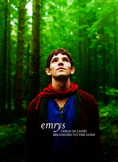 Emrys (Merlin) everyone always forgets that its his proper name <<< ice just realised I've been spelling emerys wrong...