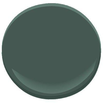 25 best ideas about gray green bedrooms on pinterest for Benjamin moore dark green