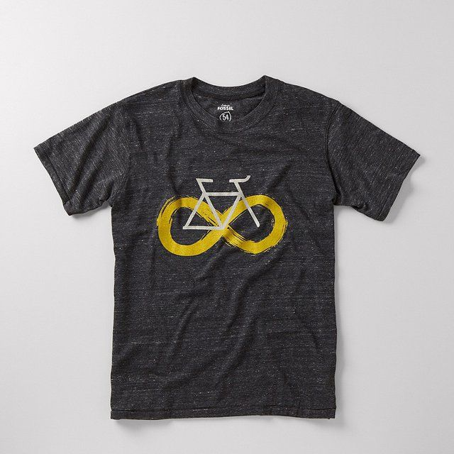 FOSSIL® Clothing Graphic Tees:Mens Infinity Bike