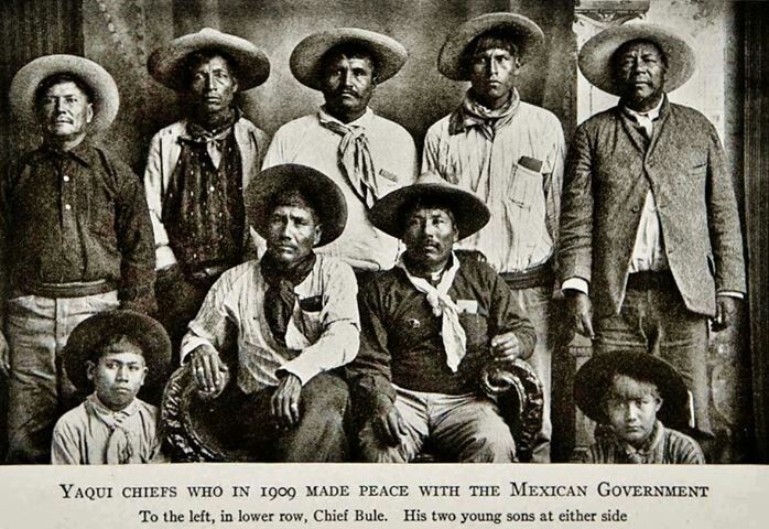Yaqui (Hiaki/ Yoeme) Chiefs in the early 1900's