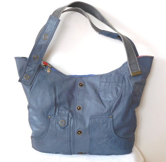 Borsa grande a mano in pelle Hobo Bag borsa in pelle