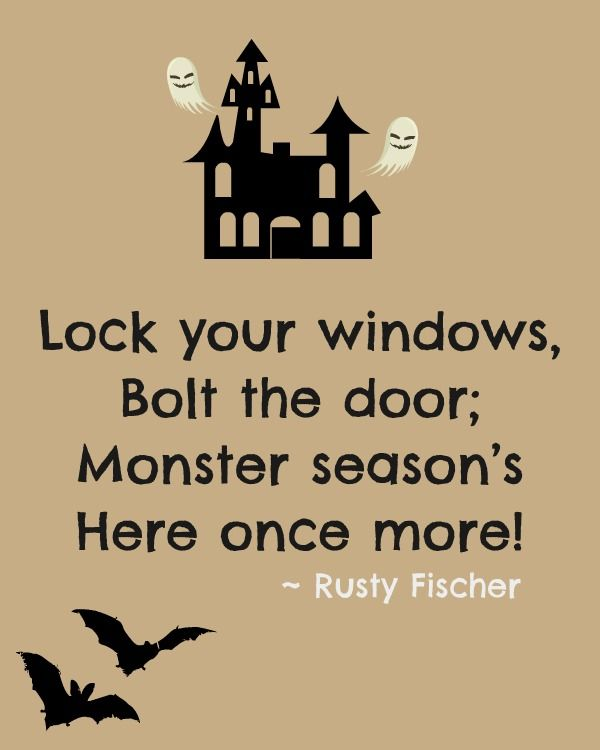 Monster season... A Halloween poem