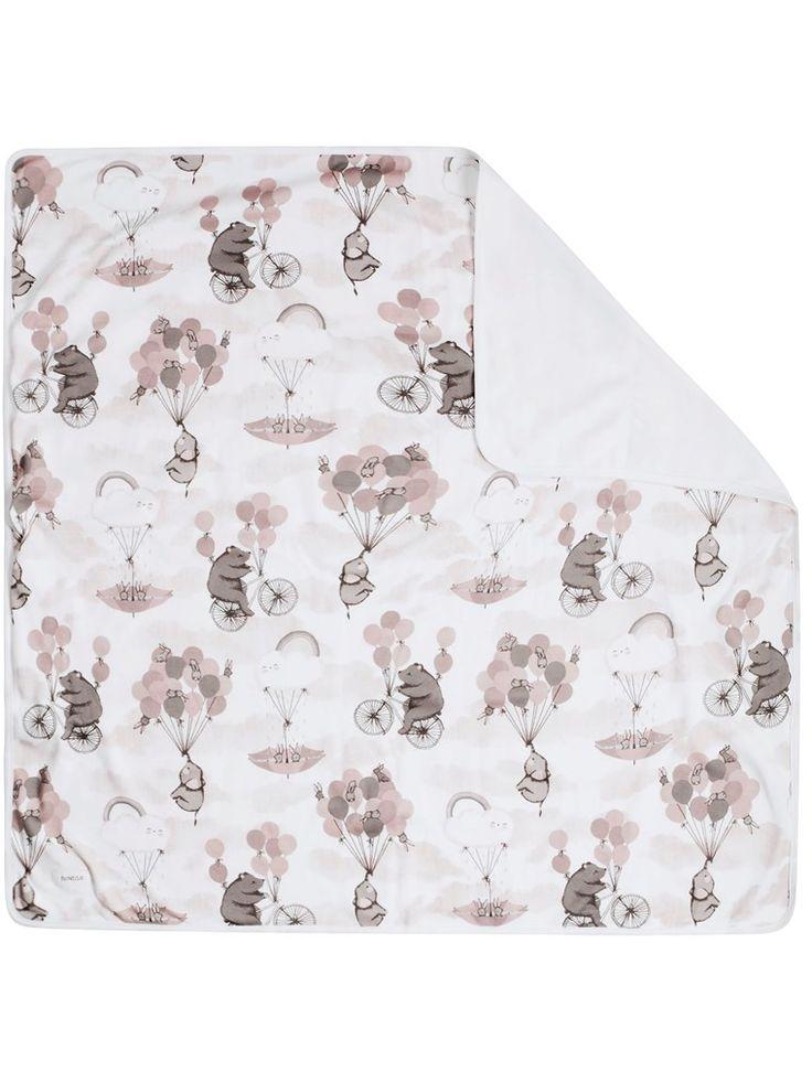 Letar du efter babyfilt? Hos KappAhl hittar du en mönstrad filt i ekologisk bomull från Newbie. Köp online eller i butik nära dig!
