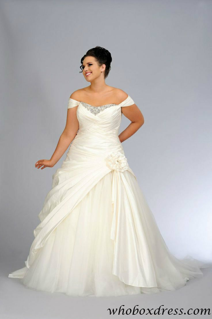 Plus size wedding dress #weddingdress repinned by wedding accessories and gifts specialists http://destinationweddingboutique.com