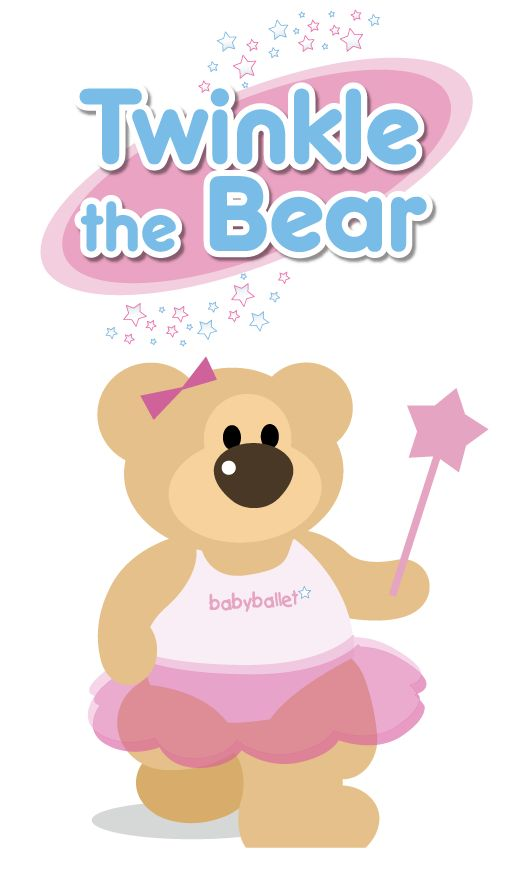 Twinkle the cute babyballet bear, loves to make everyone feel special