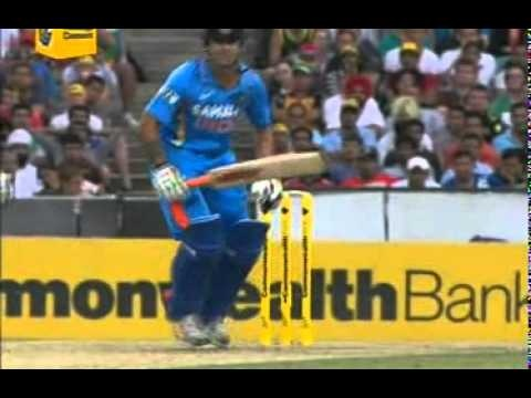 It's about time the ICC create laws that state exactly how far a bowler can go in his follow through when he is not going to catch the ball.