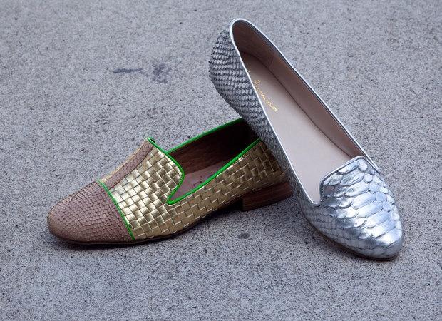 silver slipper Guilhermina