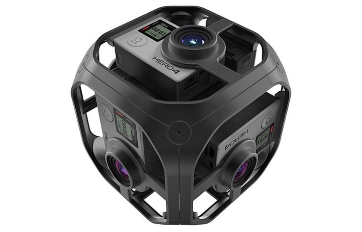 GoPro To Begin Shipping Its 'Omni' 360 Camera Next Week