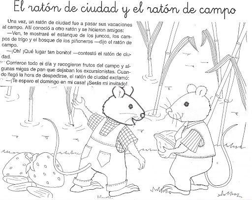 CUENTO: EL RATÓN DE CAMPO Y EL RATÓN DE CIUDAD - Betiana 1 - Picasa ...