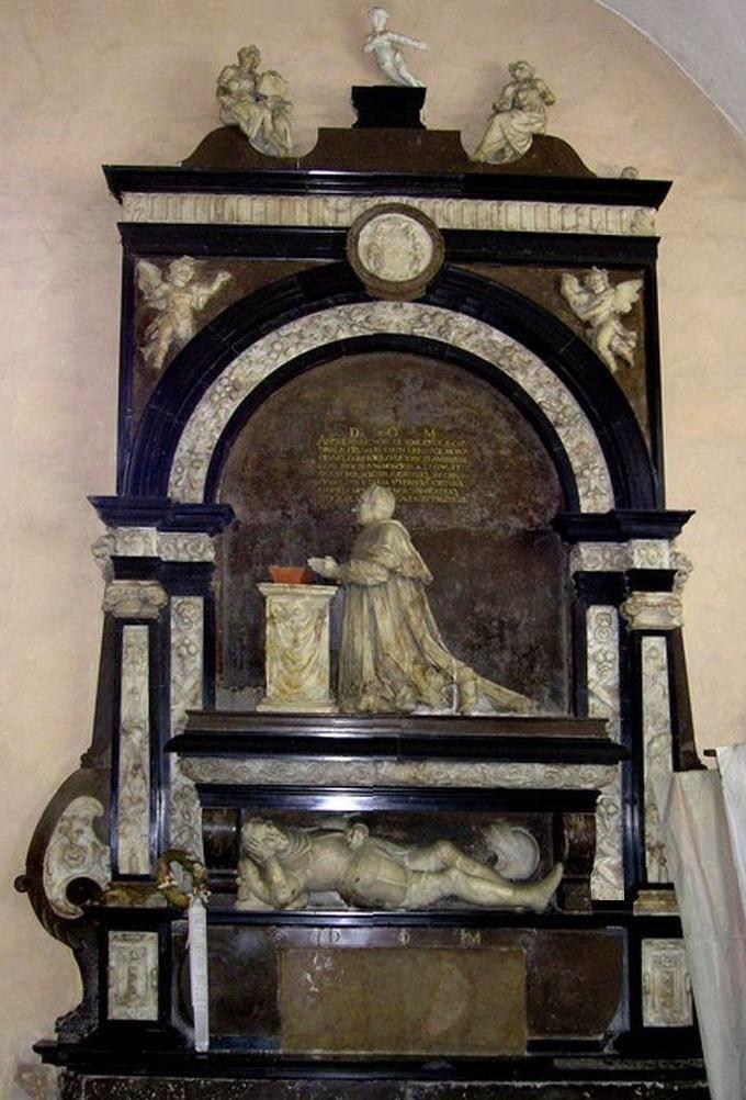 Nagrobek Andrzeja i Baltazara Batorych w kościele św. Andrzeja Apostoła w Barczewie wykonany przez Willema van den Blocke w 1598.