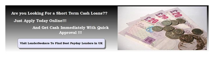 Payday loans are quick, easy and affordable option when you are in need of emergency cash. Always prefer to borrow the payday loans from direct lenders instead of broker as they would charge you high interest rates and extra brokerage fees. Find best payday lenders at LenderSeekers.