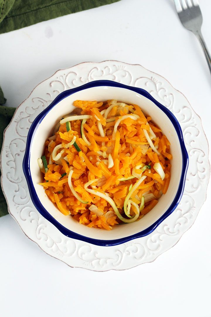Spiralized Arroz con Fideos. This sounds yummy!