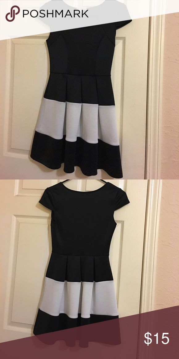 Formal Dress Black & White Dress For Occasions Charlotte Russe Dresses