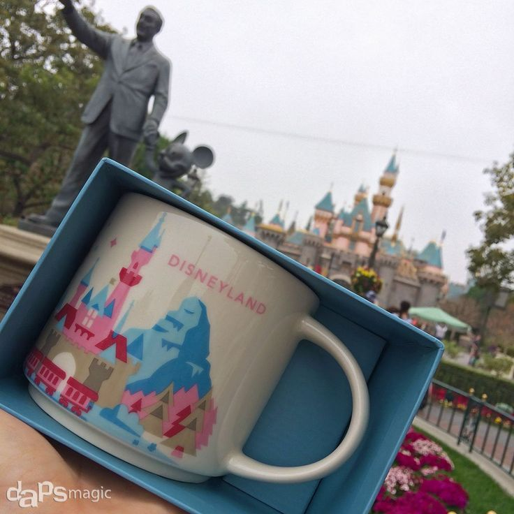 Starbucks Mugs Arrive at Disneyland and Disney California Adventure