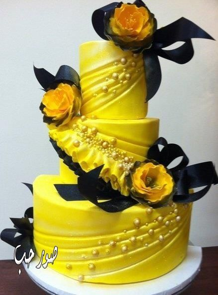 The 25+ best Yellow round wedding cakes ideas on Pinterest ...