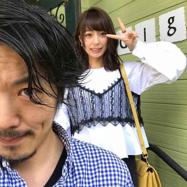 宇垣美里アナウンサーの髪色を変えました♪ 最近は髪の毛の長さ