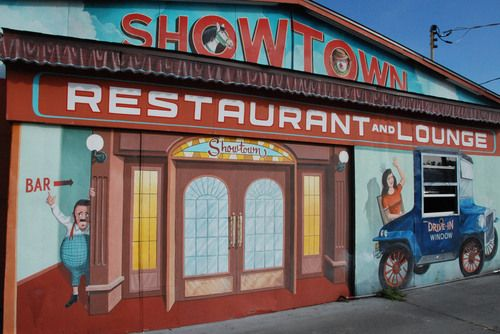 Where sideshow performers often spend winter.- Gibonston, FL