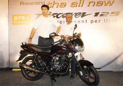New Bikes In India: Bajaj Auto Unveils New Discover 125. http://www.autoinfoz.com/india-Bikes-news/Bajaj-Bikes-news/bajaj_auto_unveils_new_discover_125-381.html