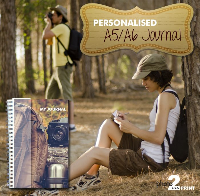 Product Idea: Explore your imagination through writing in your own personalised journal. http://photo2print.co.za/journal-a5-a6/