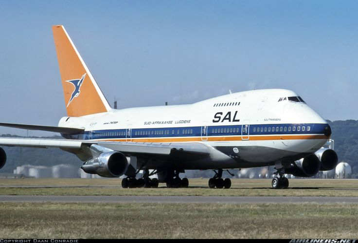 Boeing 747SP-44 aircraft picture