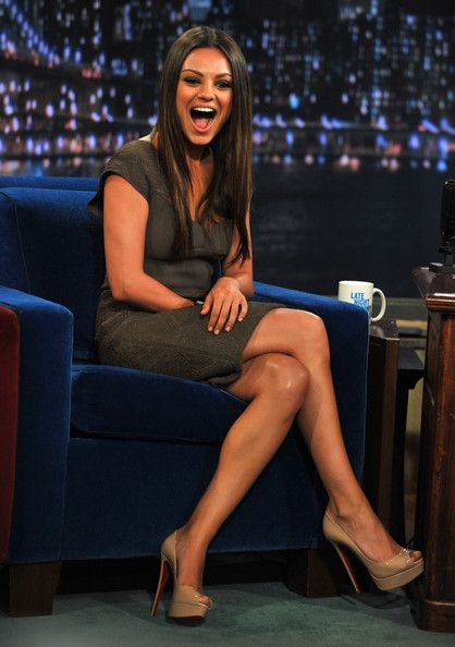 "Mila Kunis - Mila Kunis Visits ""Late Night With Jimmy Fallon"" - July 18, 2011"