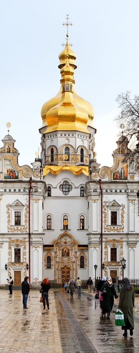 The Pechersk Lavra also known as the Kiev Monastery of the Caves in Pechersk Lavra District - KIev  | Ukraine