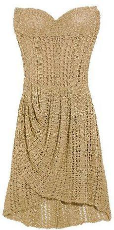 Юбки сарафаны вязанные крючком модели платьев вязание