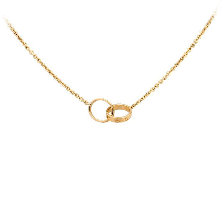 Cartier LOVE necklace.