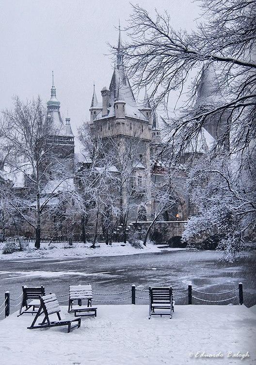 Castle of Vajdahunyad, Budapest, Hungary
