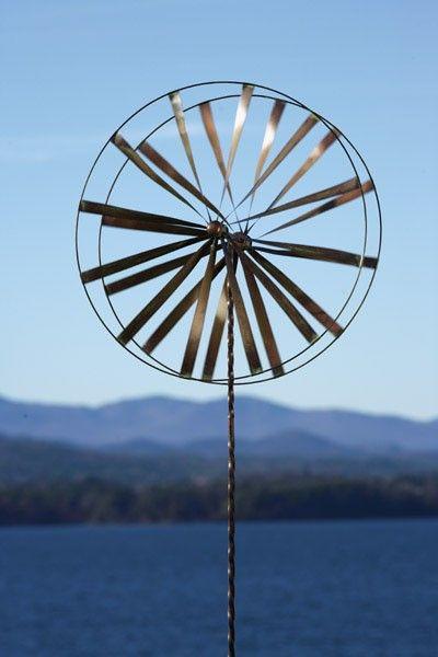 Ancient Graffiti Products | ANCIENT GRAFFITI   Wheel Spinner   Wind Garden  Decorative Metal .