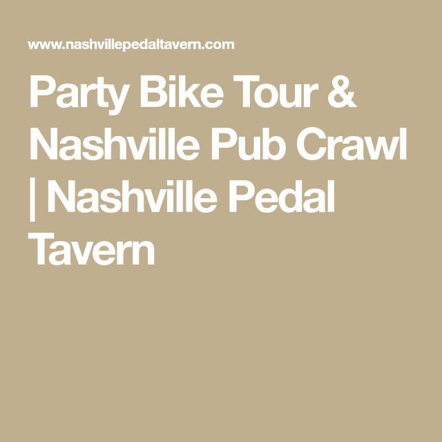Party Bike Tour & Nashville Pub Crawl | Nashville Pedal Tavern