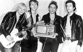 Television band | Television is an American rock band, formed in New York City in 1973 and credited as highly influential and seminal. Television was part of the 1970s New York rock scene, along with musical acts like the Patti Smith Group, the Ramones, Blondie, Richard Hell, and Talking Heads. Richard Lloyd, Tom Verlaine, Richard Hell & Billy Ficca