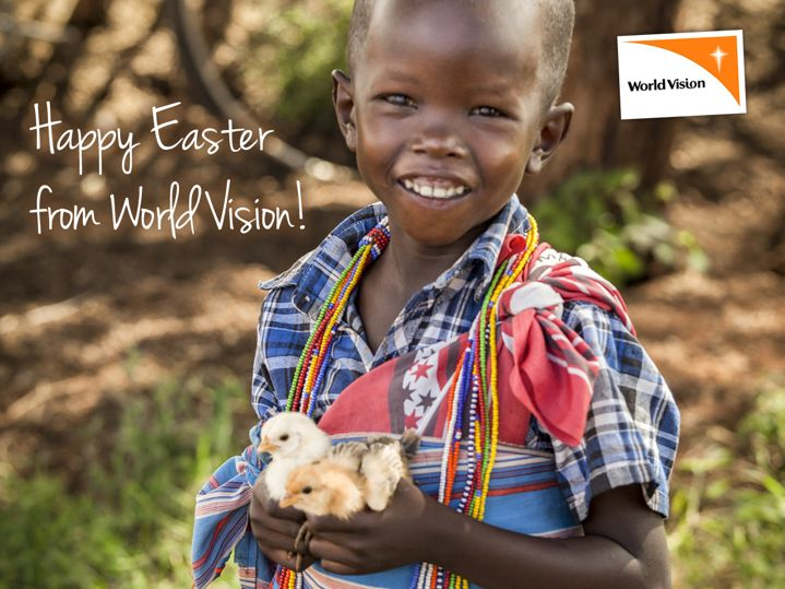Happy Easter from World Vision! http://www.worldvision.ie/gifts/easter