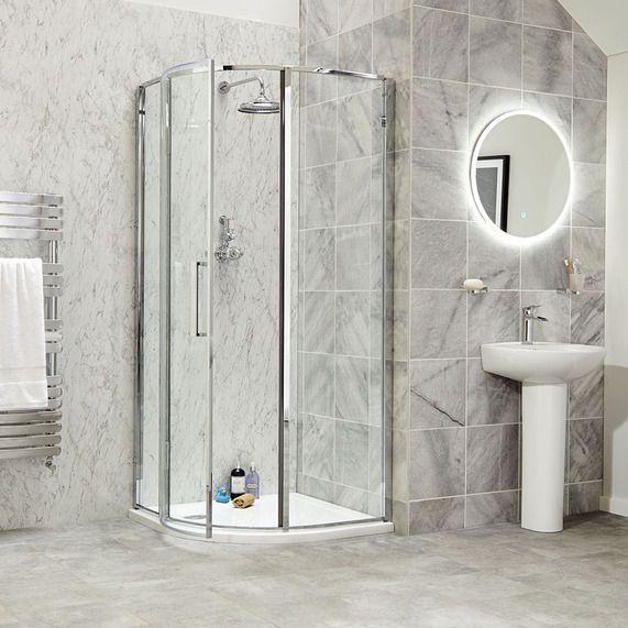 Vetri 800 Quadrant Bathstore Quadrant Shower Enclosures