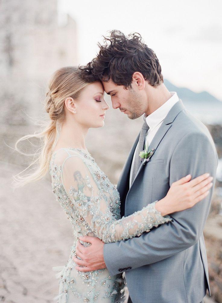 Destination Wedding Inspiration in Greece by Marie Film Photographer | Wedding Sparrow | wedding blog