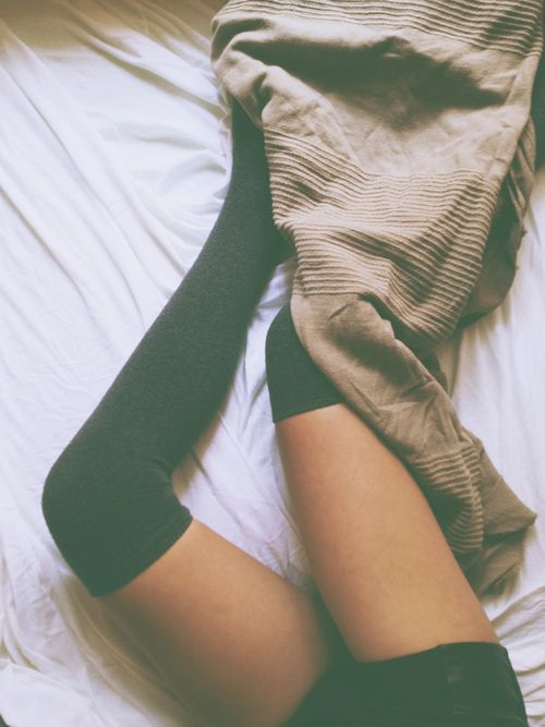 socks and sweaters