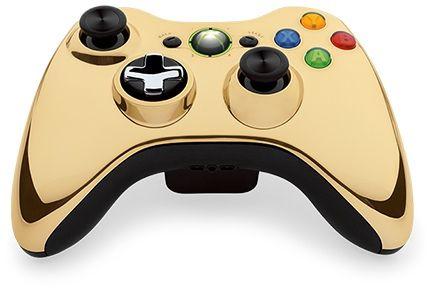 Microsoft lanzará control dorado edición especial para Xbox 360, muy parecido al incluído en el Bundle edición limitada de Star Wars.