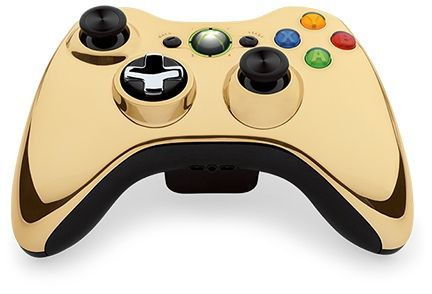 Gold Chrome Xbox 360 Controller Will Be Available To Purchase In August  - http://www.techvour.com/gadgets/gold-chrome-xbox-360-controller-will-be-available-to-purchase-in-august/