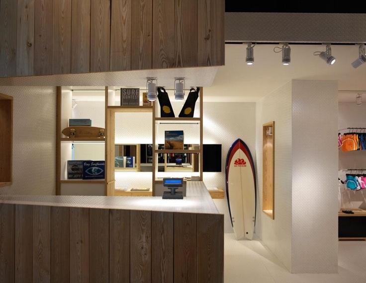 Studio10, Sundek Store, Forte dei Marmi, Italia 2012
