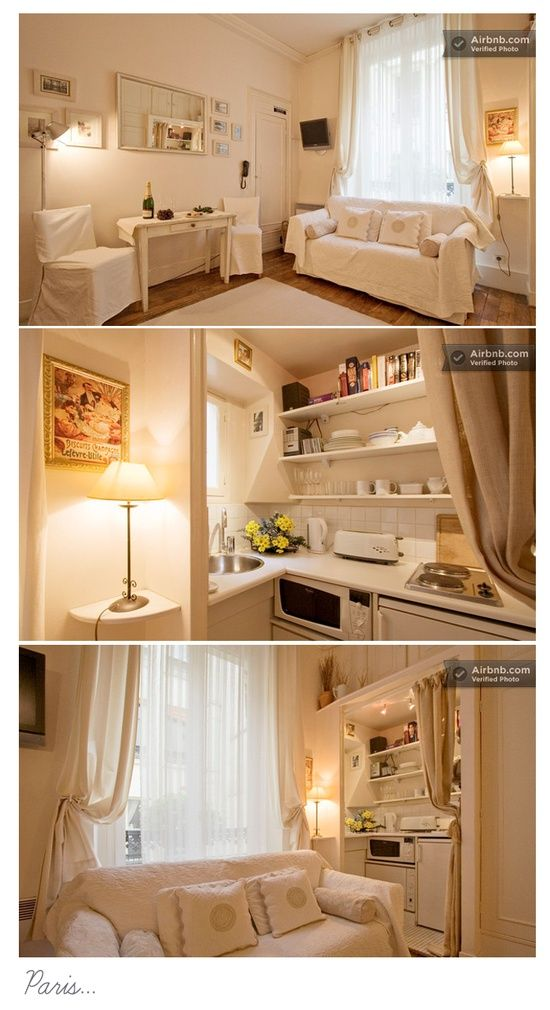 86 best small studio decorating images on pinterest for Studio apartment interior