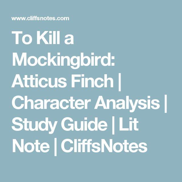 atticus finch analysis
